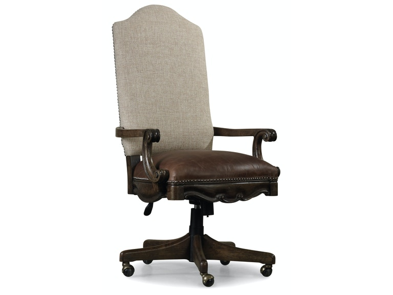 hooker furniture home office rhapsody tilt swivel chair