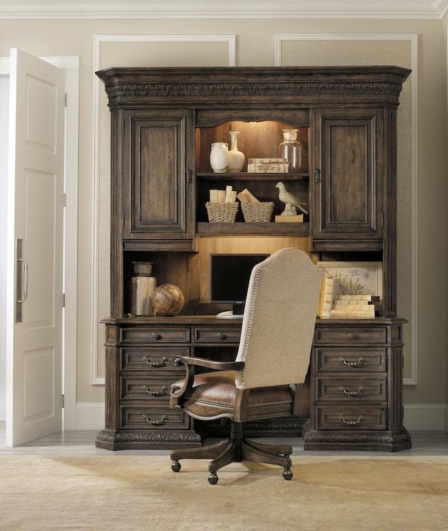 Hooker Furniture Home Office Rhapsody Tilt Swivel Chair 5070 30220 Woodbridge Interiors San