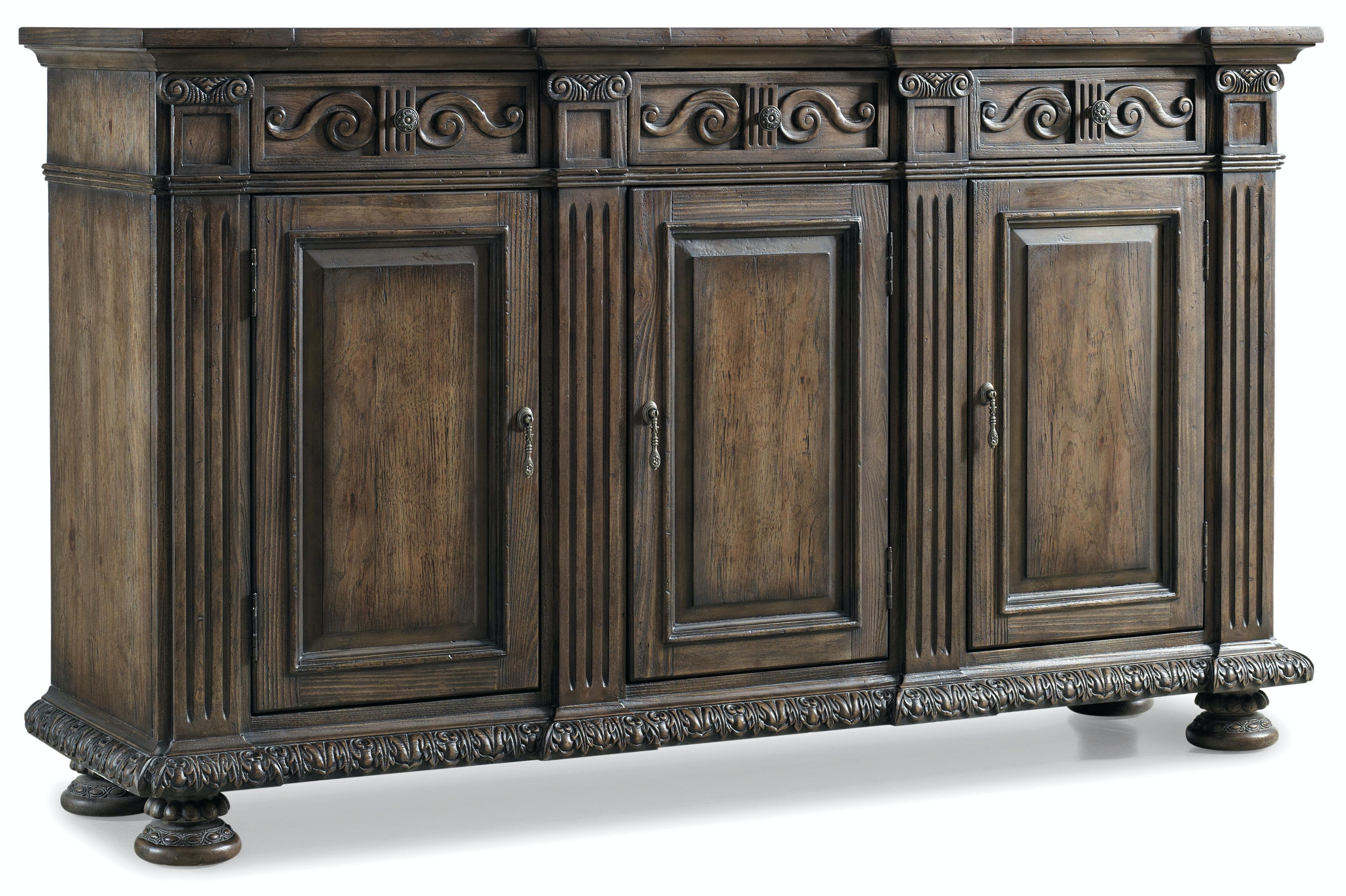 "Living Room Credenza : Hooker Furniture Living Room Rhapsody 72"" Credenza 5070-85001"