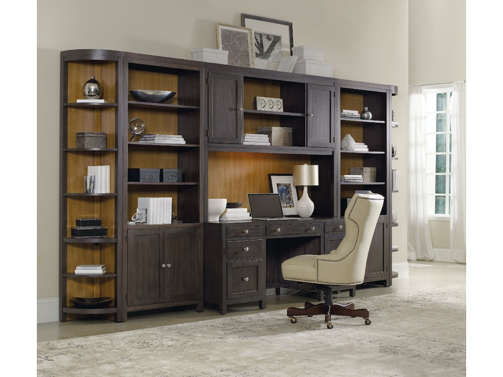 Hooker furniture home office south park computer credenza 5078 10464 - Hooker home office furniture ...