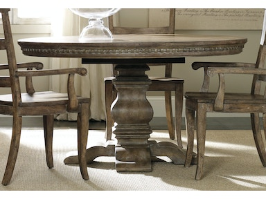 5107 75203  Sorella Pedestal Dining Table  Dining Room Tables   Stacy Furniture   Grapevine  Allen  Plano and  . Arlington Round Sienna Pedestal Dining Room Table W Chestnut Finish. Home Design Ideas