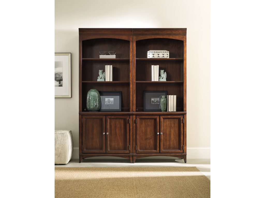 Hooker Furniture Home Office Latitude Bunching Bookcase