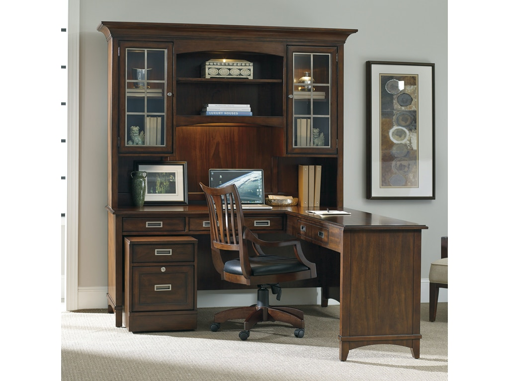 Hooker furniture home office latitude left right return 5167 10478 drury 39 s inc fountain mn - Hooker home office furniture ...