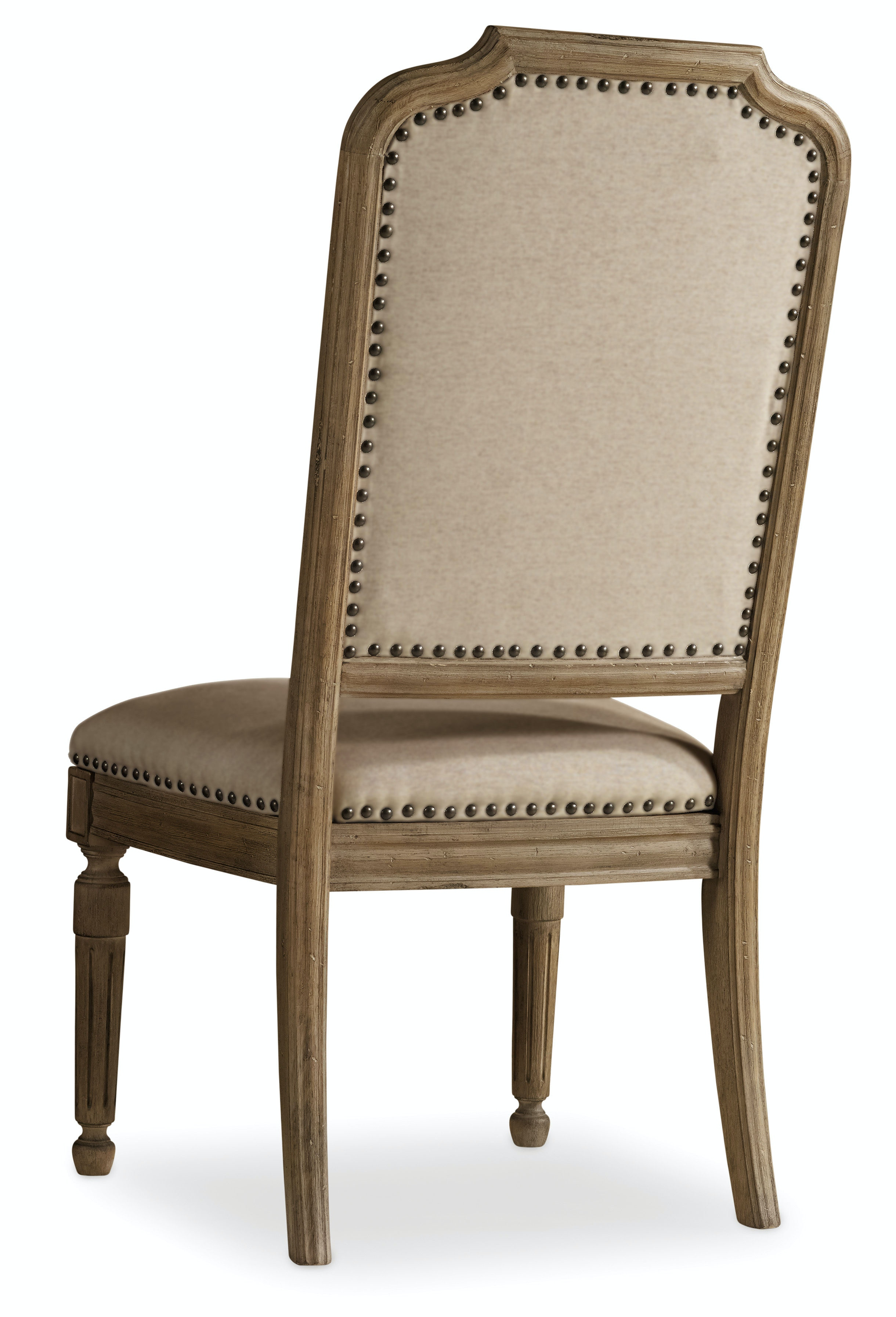Upholstered dining room side chairs