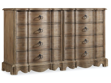 Hooker Furniture Corsica Eight Drawer Dresser 5180-90002