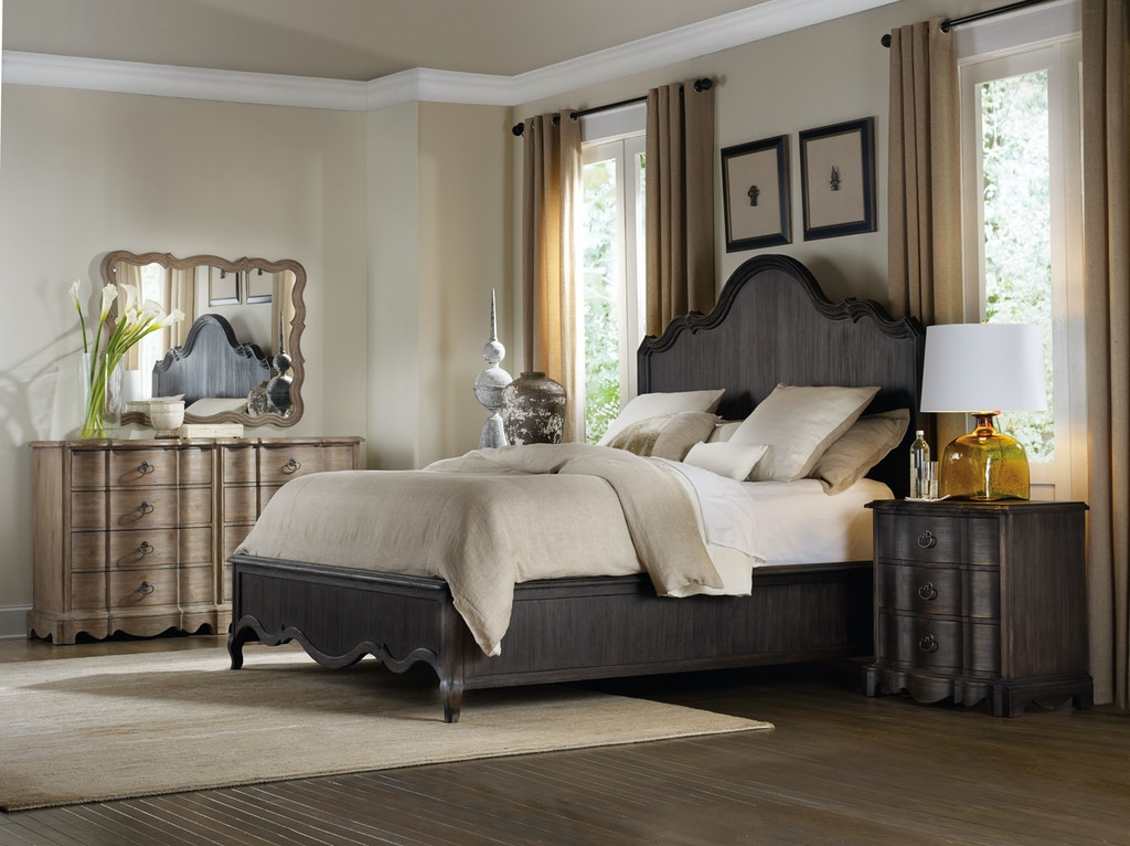 Hooker furniture bedroom corsica eight drawer dresser 5180 90002 mccreerys home furnishings for Bedroom furniture in sacramento