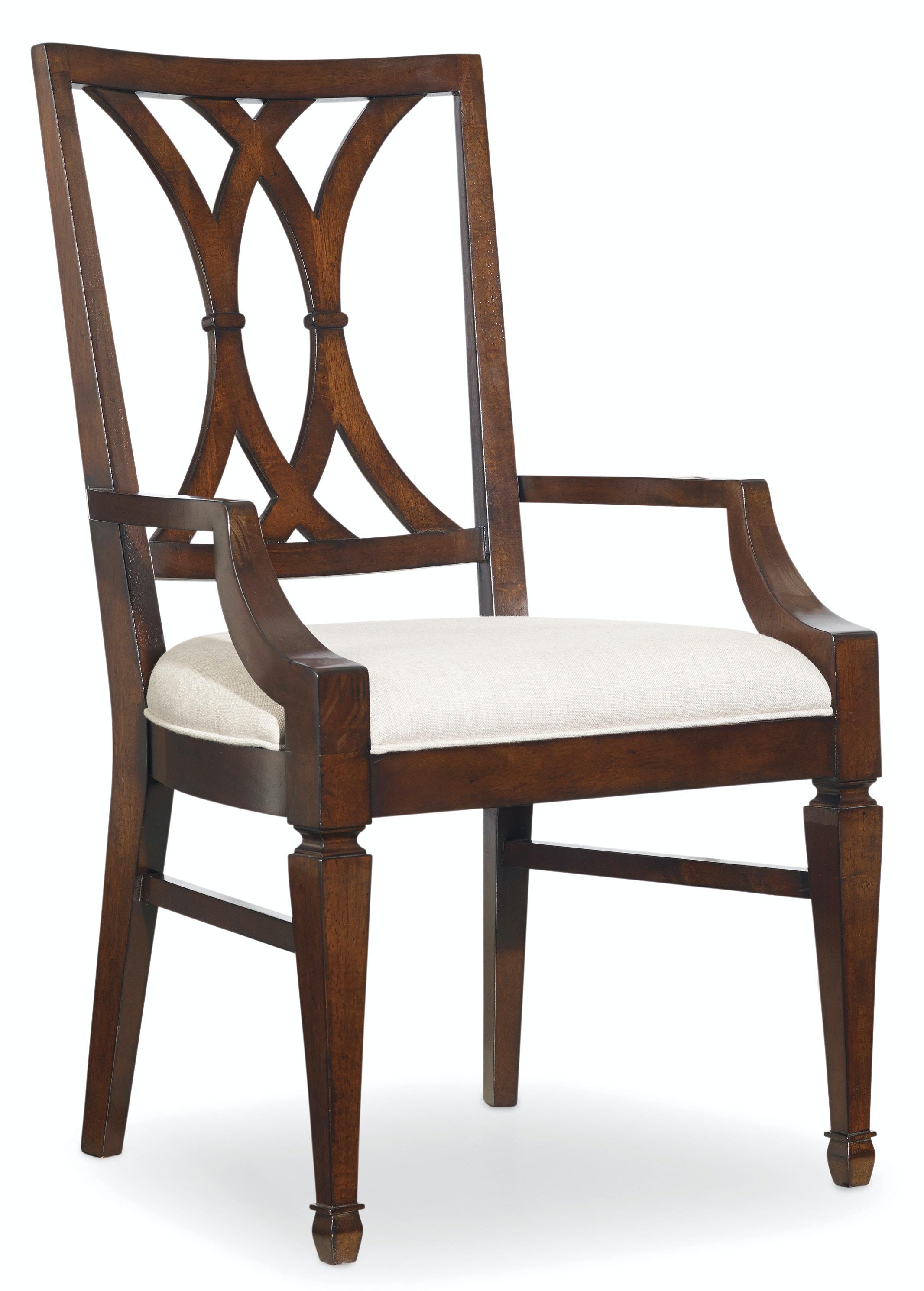 hooker furniture dining room palisade splat back arm chair viyet designer furniture seating hooker high back
