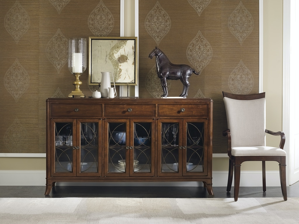 hooker furniture dining room palisade buffet 5183 75900. Black Bedroom Furniture Sets. Home Design Ideas
