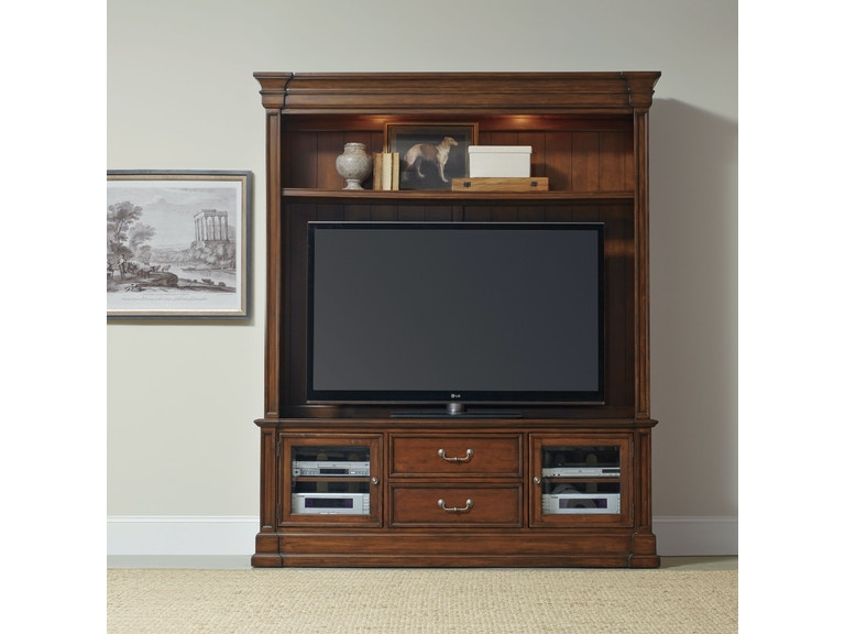 Hooker Furniture Clermont Two Piece Entertainment Group 5271-70202