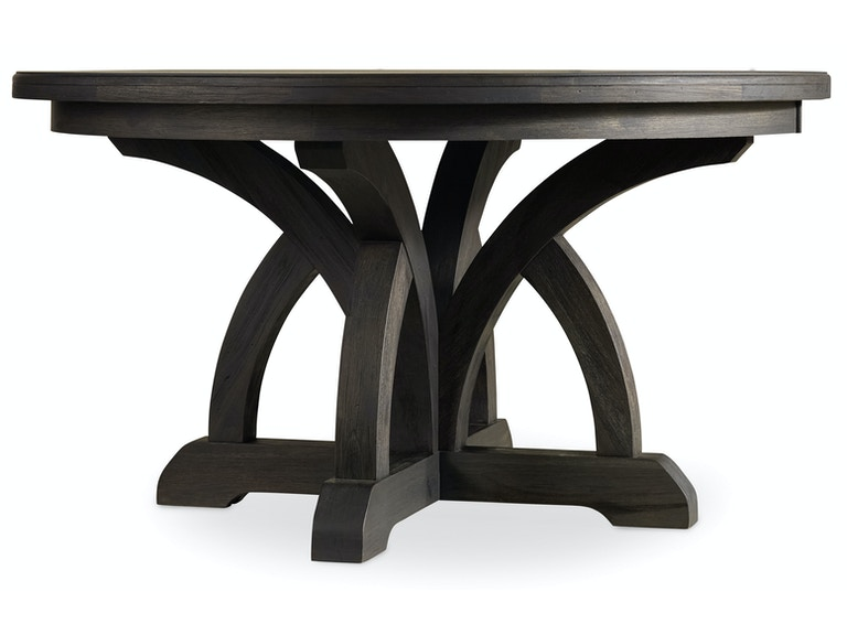 Hooker Furniture Corsica Dark Round Dining Table w/1-18in Leaf 5280-75203