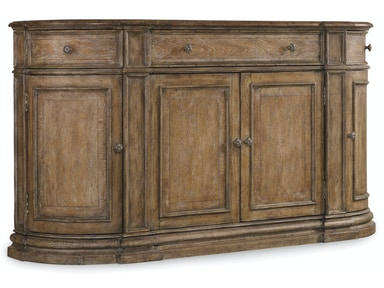 Hooker Furniture Solana Three-Drawer Four-Door Buffet 5291-75900