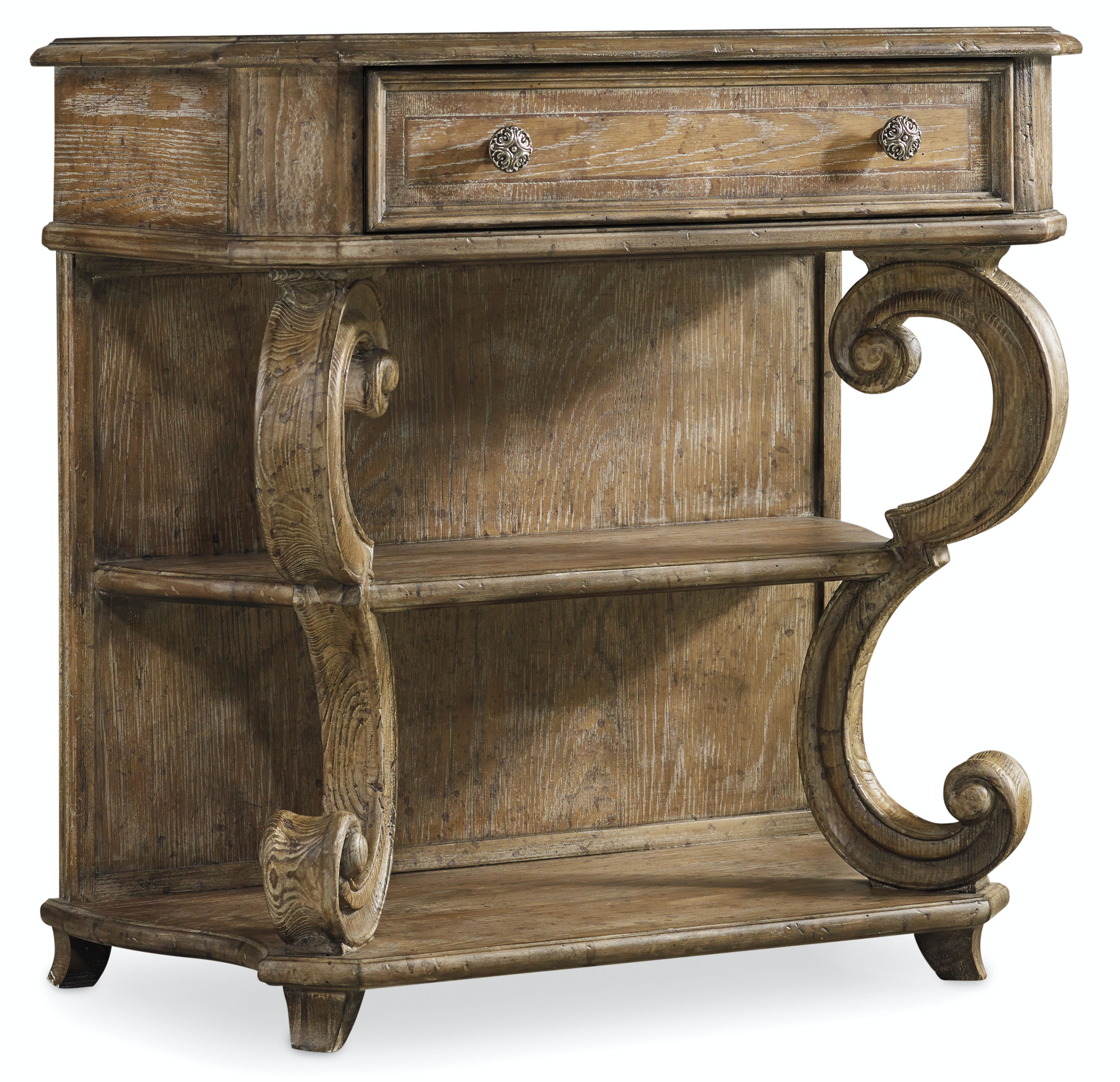 Hooker Furniture Bedroom Solana One Drawer Leg Nightstand