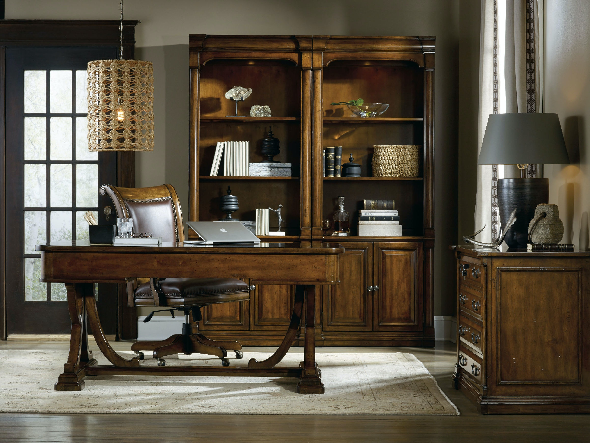 Hooker Furniture Tynecastle Tilt Swivel Desk Chair 5323 30220