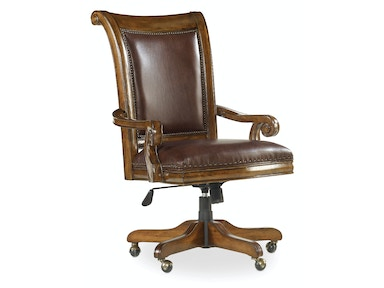 Hooker Furniture Tynecastle Tilt Swivel Desk Chair