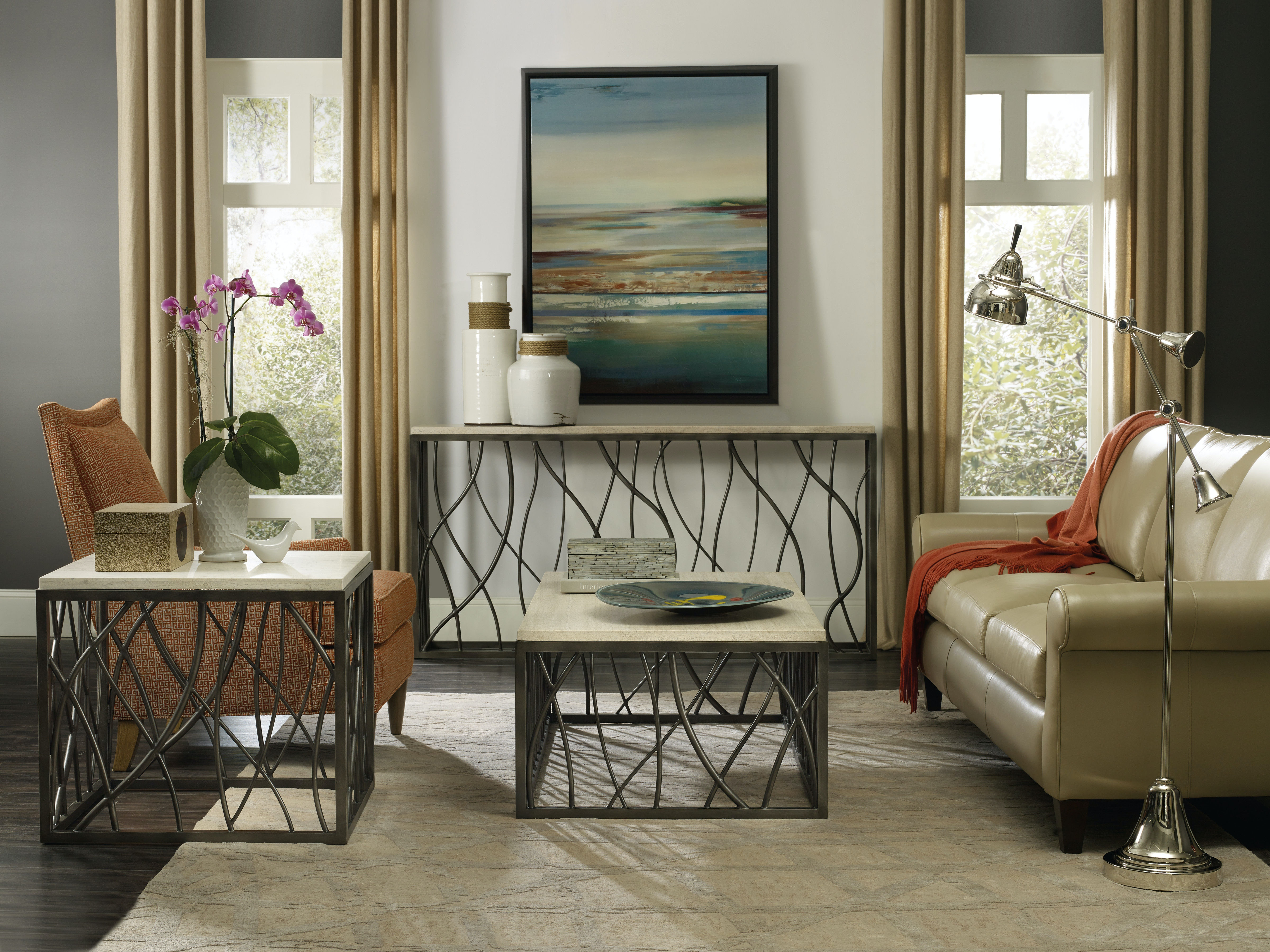 ... Hooker Furniture Console Table 5373 80151