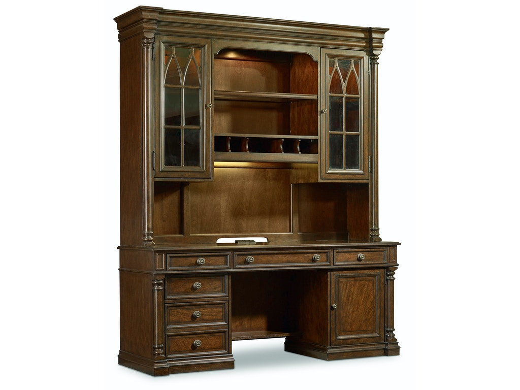 hooker furniture home office leesburg computer credenza