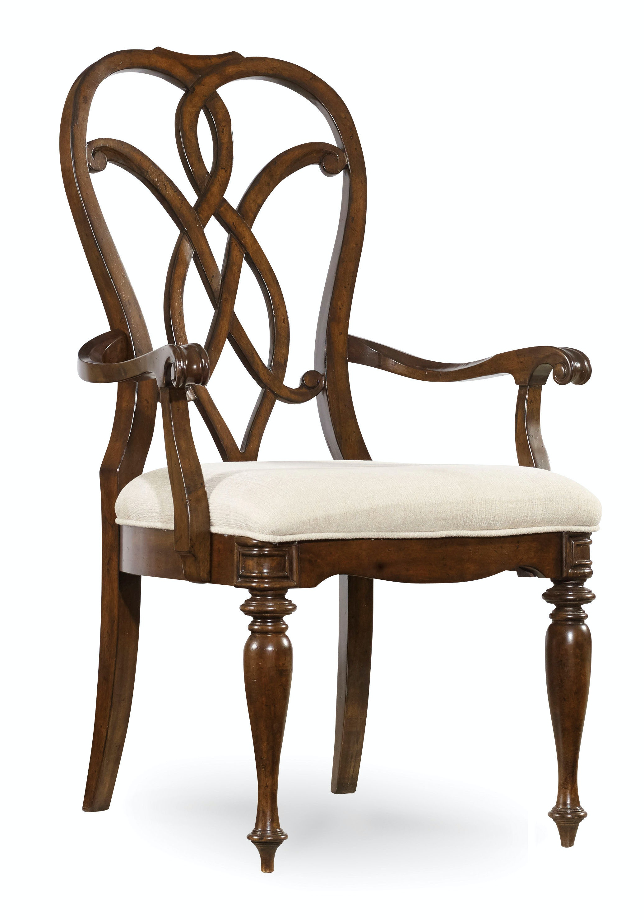Hooker Furniture Leesburg Splatback Arm Chair 5381-75300