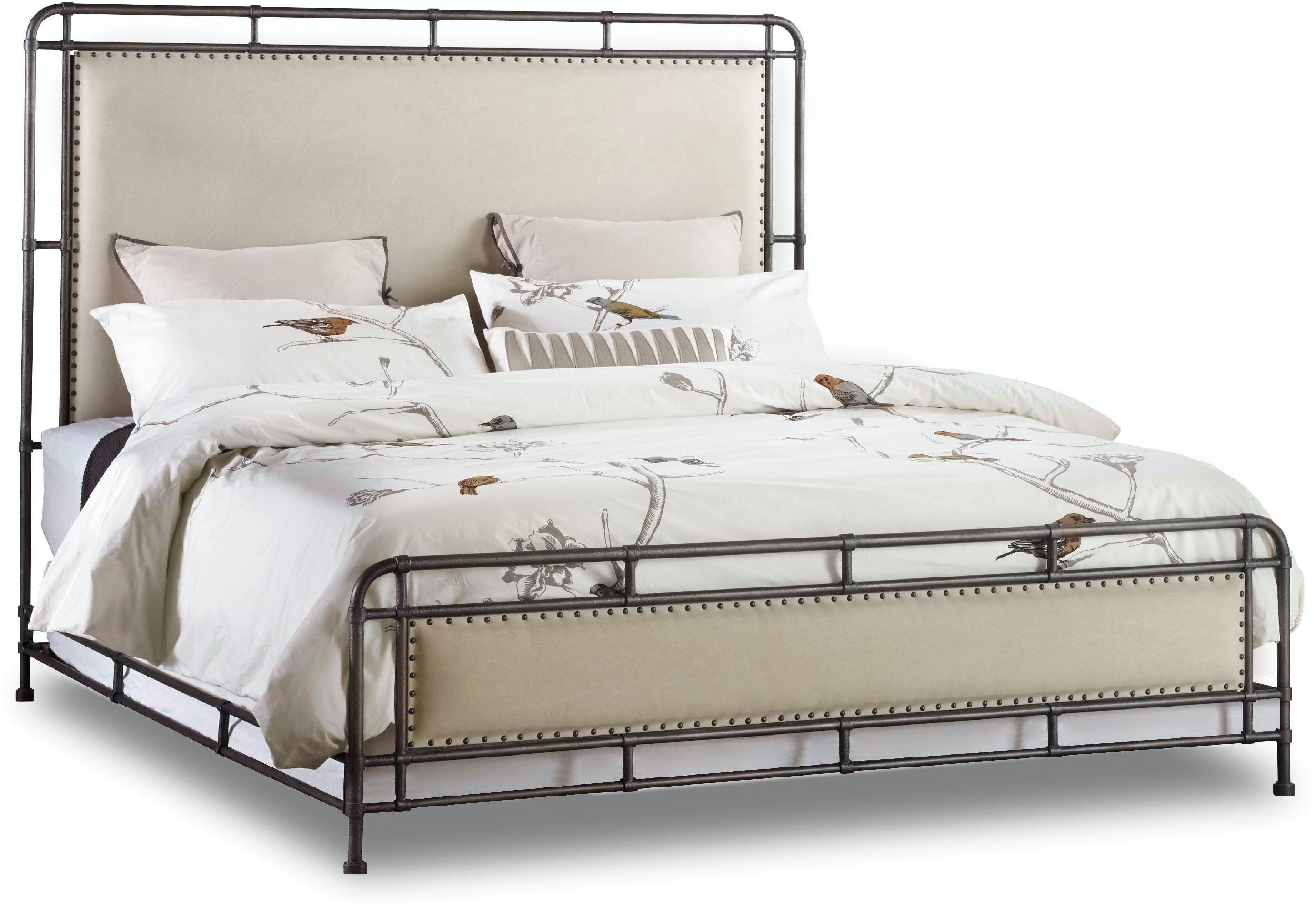 Bedroom Sets Lubbock Tx hooker furniture bedroom studio 7h slumbr king metal upholstered