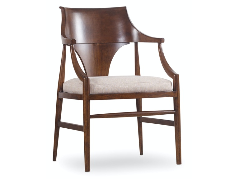 Hooker Furniture Studio 7H Jens Danish Arm Chair 5398-75400