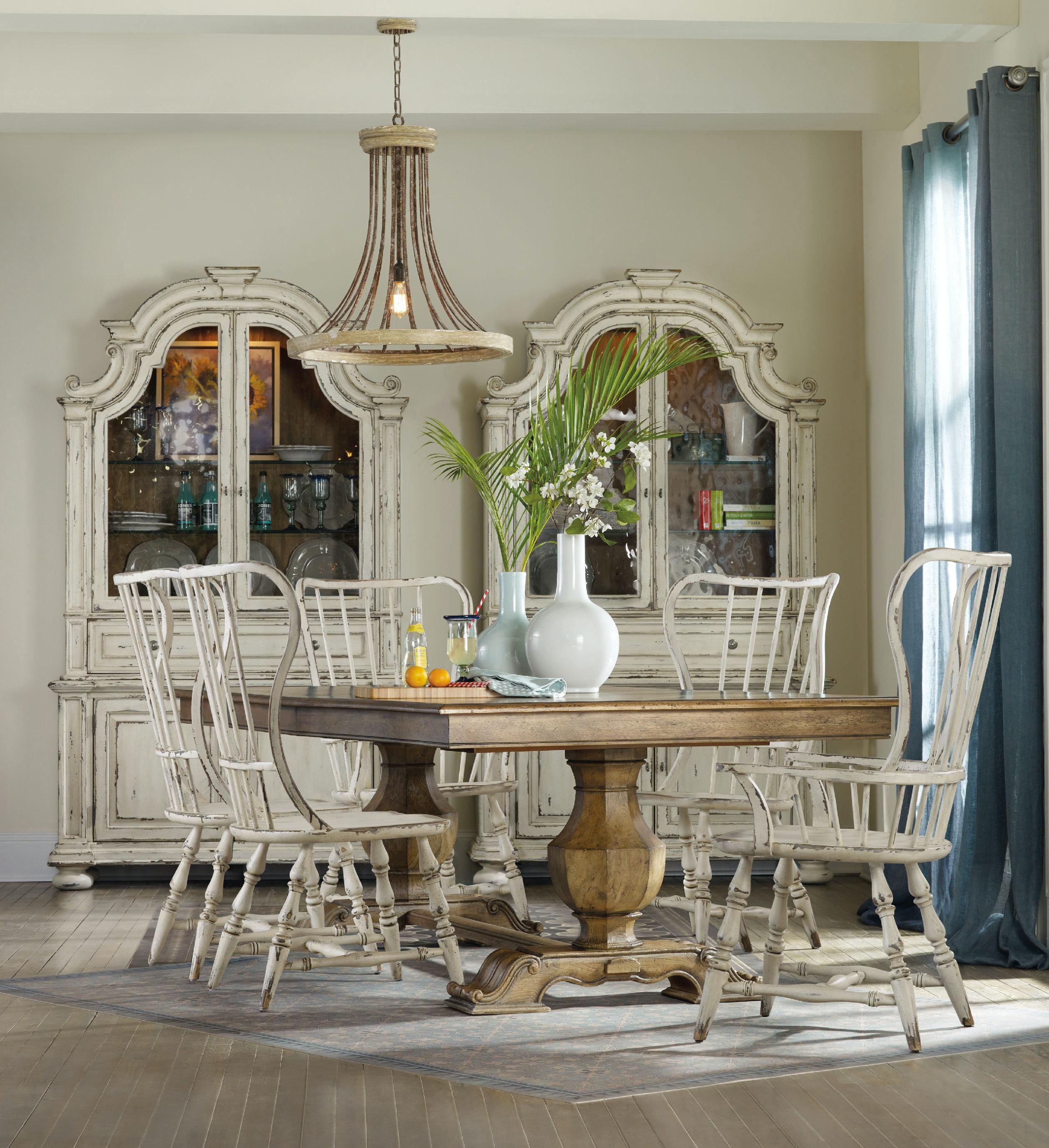 Hooker Furniture Sanctuary Spindle Back Side Chair 5403 75310