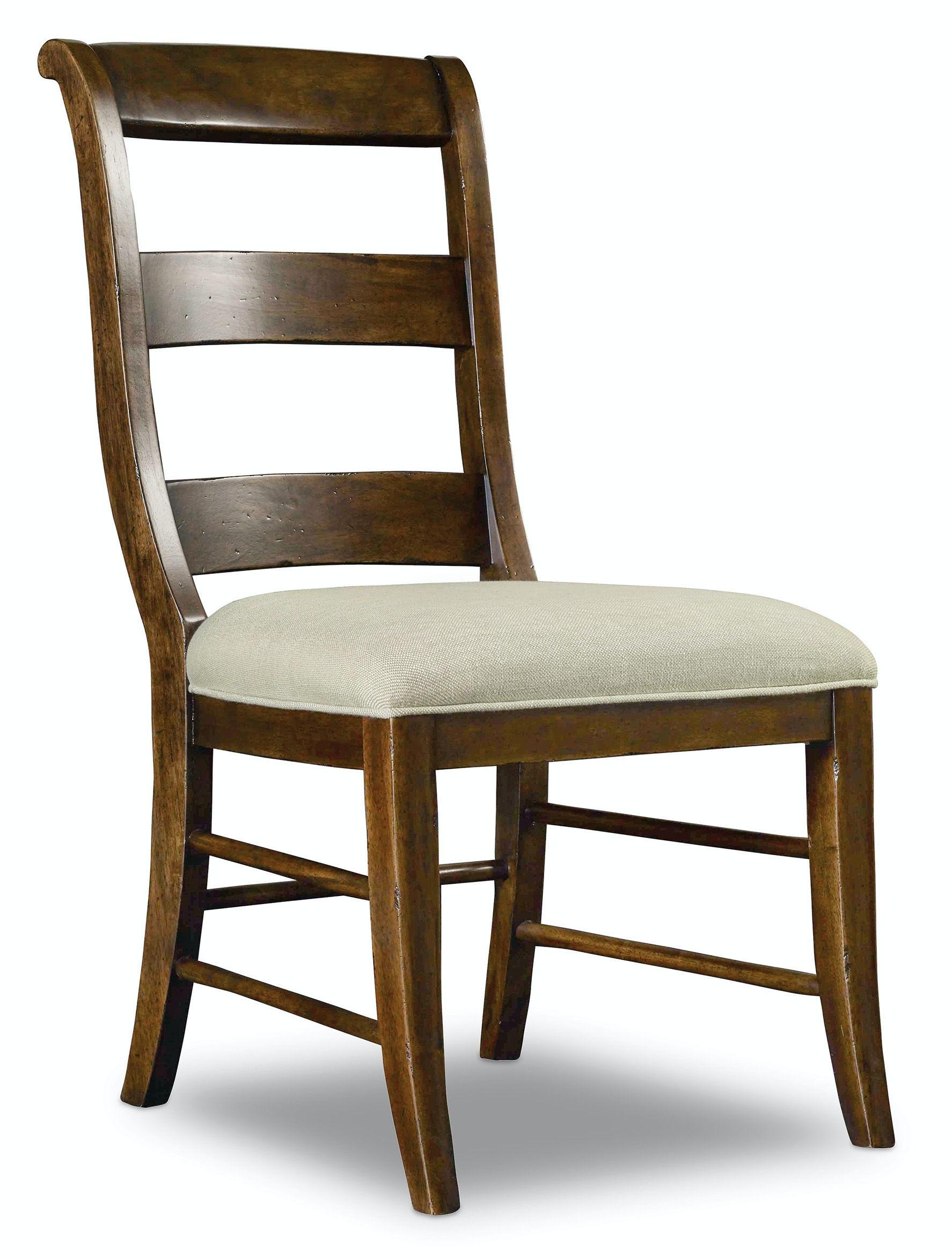 Hooker Furniture Archivist Ladderback Side Chair 5447 75710 ...