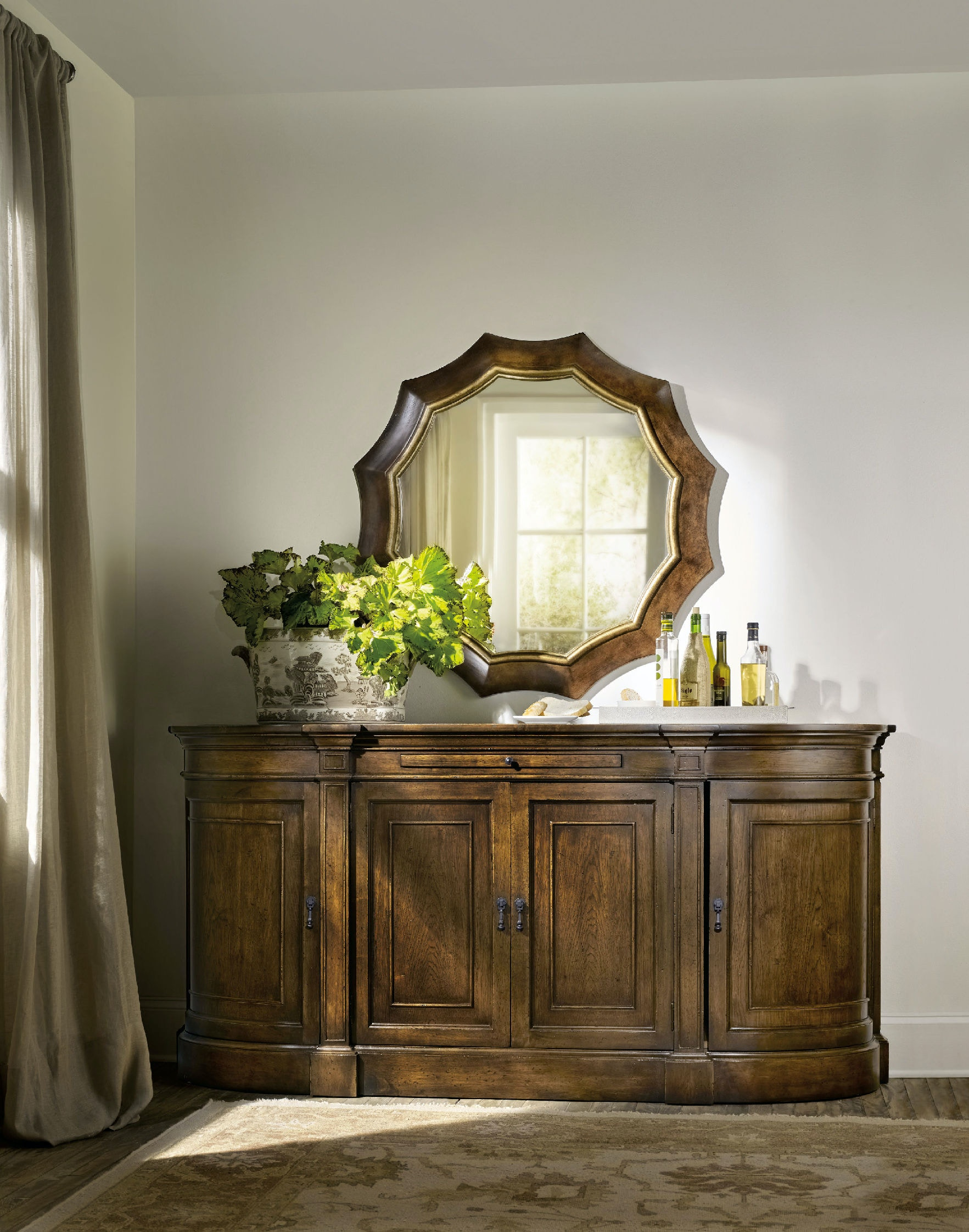 Hooker Furniture Bedroom Archivist Accent Mirror 5447-90009 - McCreerys Home Furnishings ...