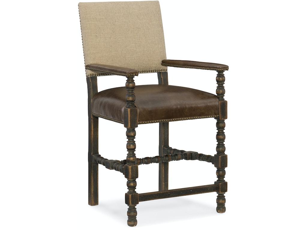 Hooker furniture dining room comfort counter stool 5960 25350 blk matter brothers furniture - Living room furniture fort myers fl ...
