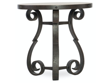 Luckenbauch Metal and Stone End Table 5960-80113-MTL