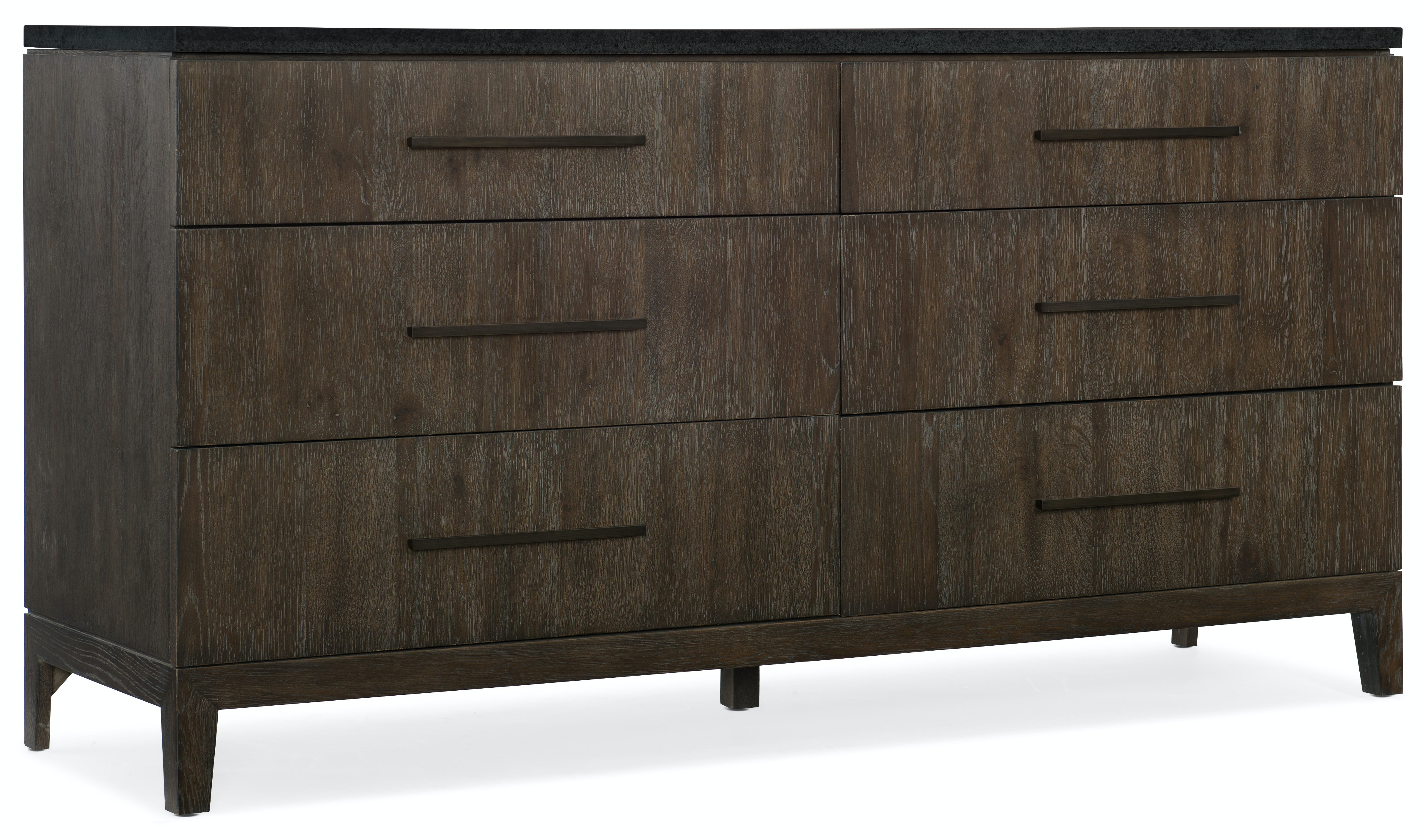 Hooker Furniture Miramar Aventura Raphael Six Drawer Dresser 6202 90002 DKW