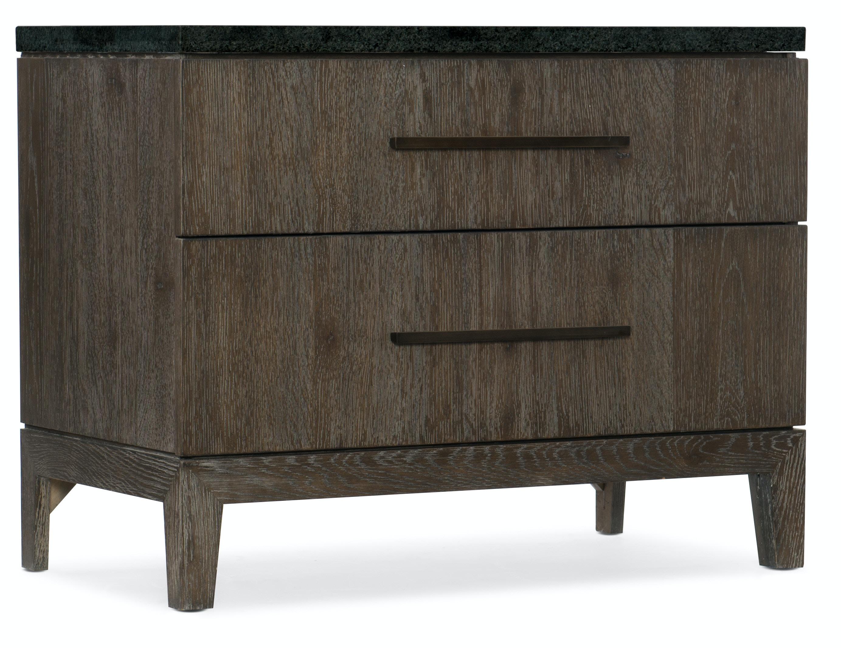 Ordinaire Hooker Furniture Miramar Aventura San Marcos Stone Top Nightstand  6202 90015 DKW