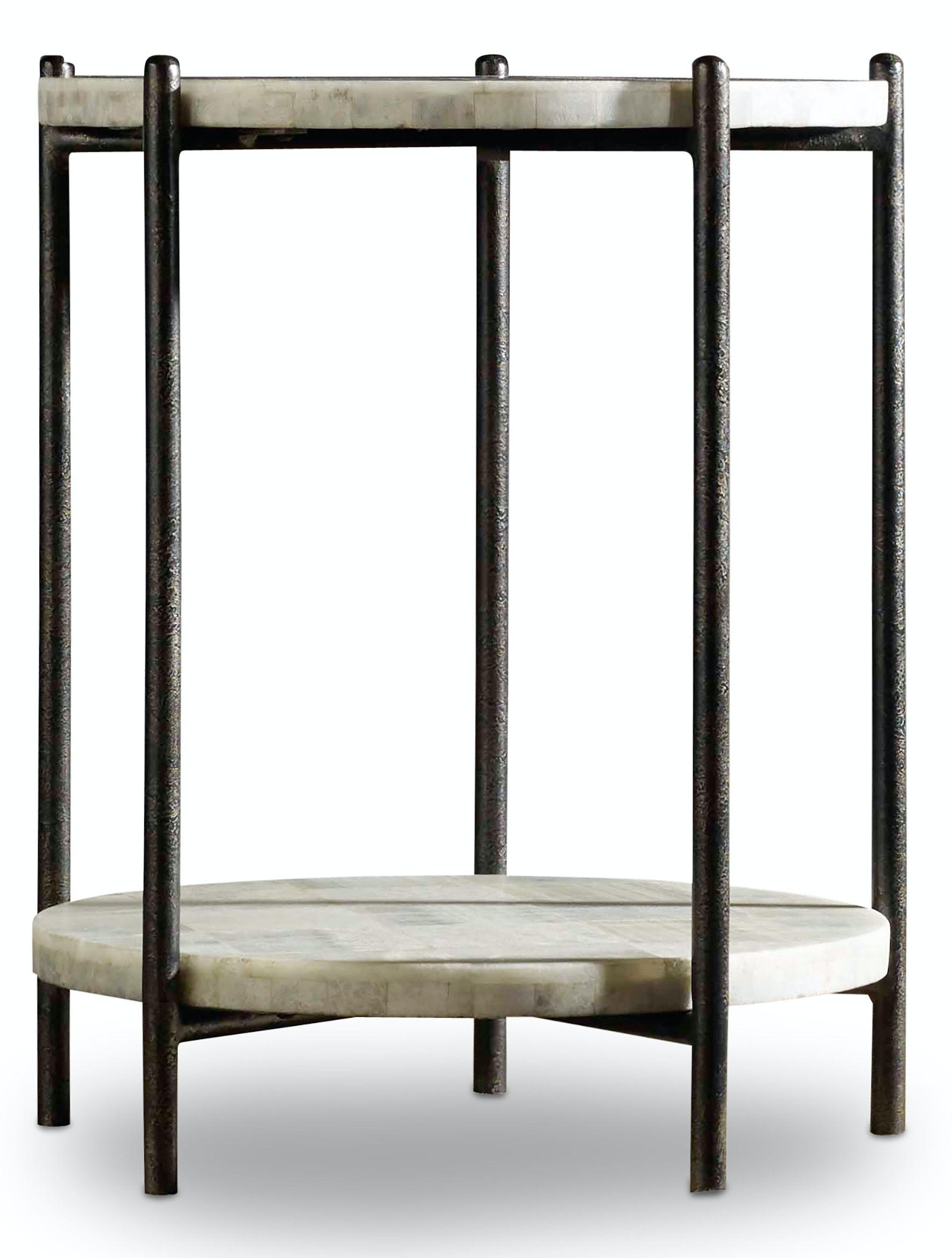 Hooker Furniture Living Room Melange Blythe Accent Table