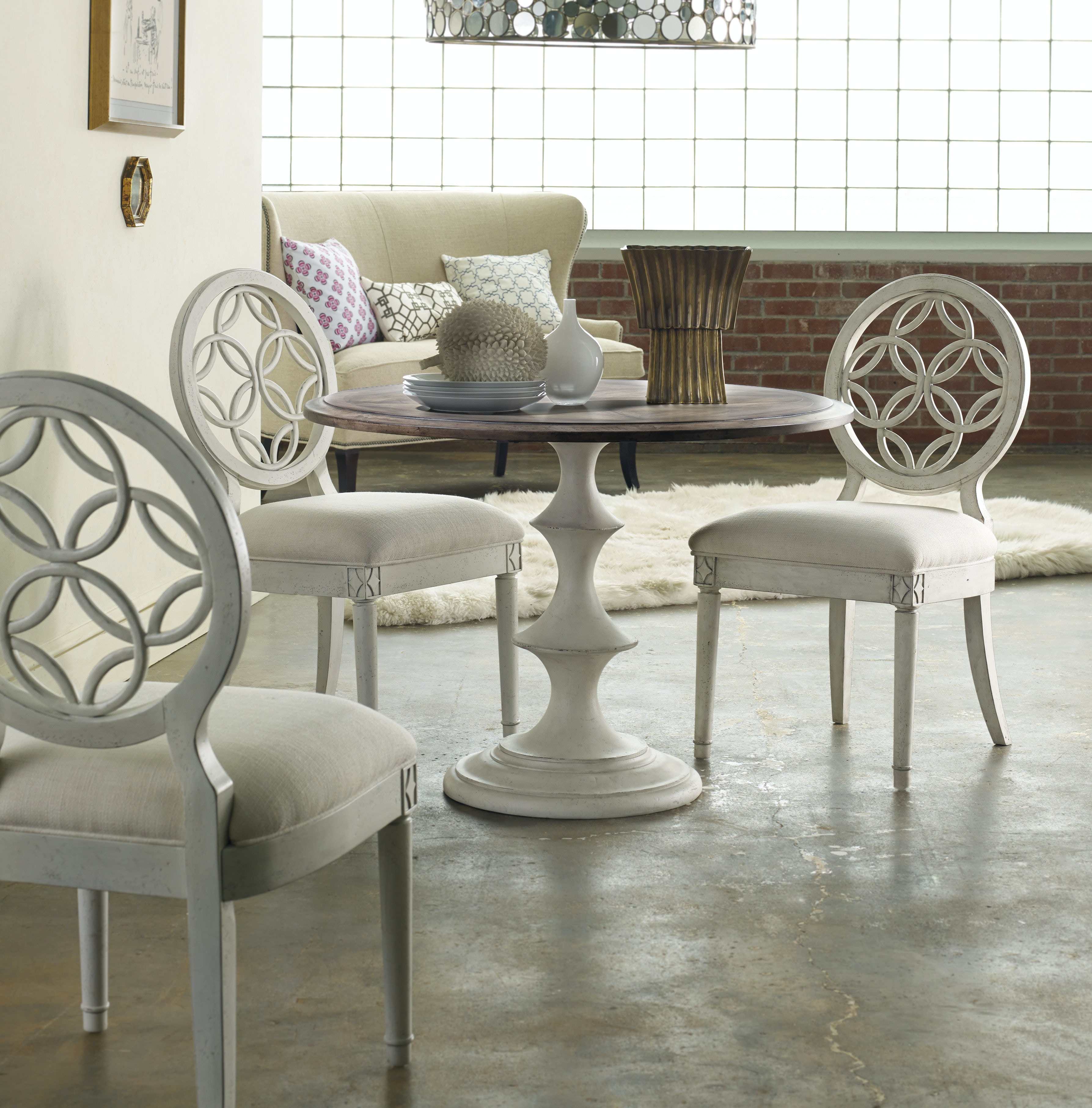 ... Hooker Furniture Brynlee Side Chair 638 75006 ...