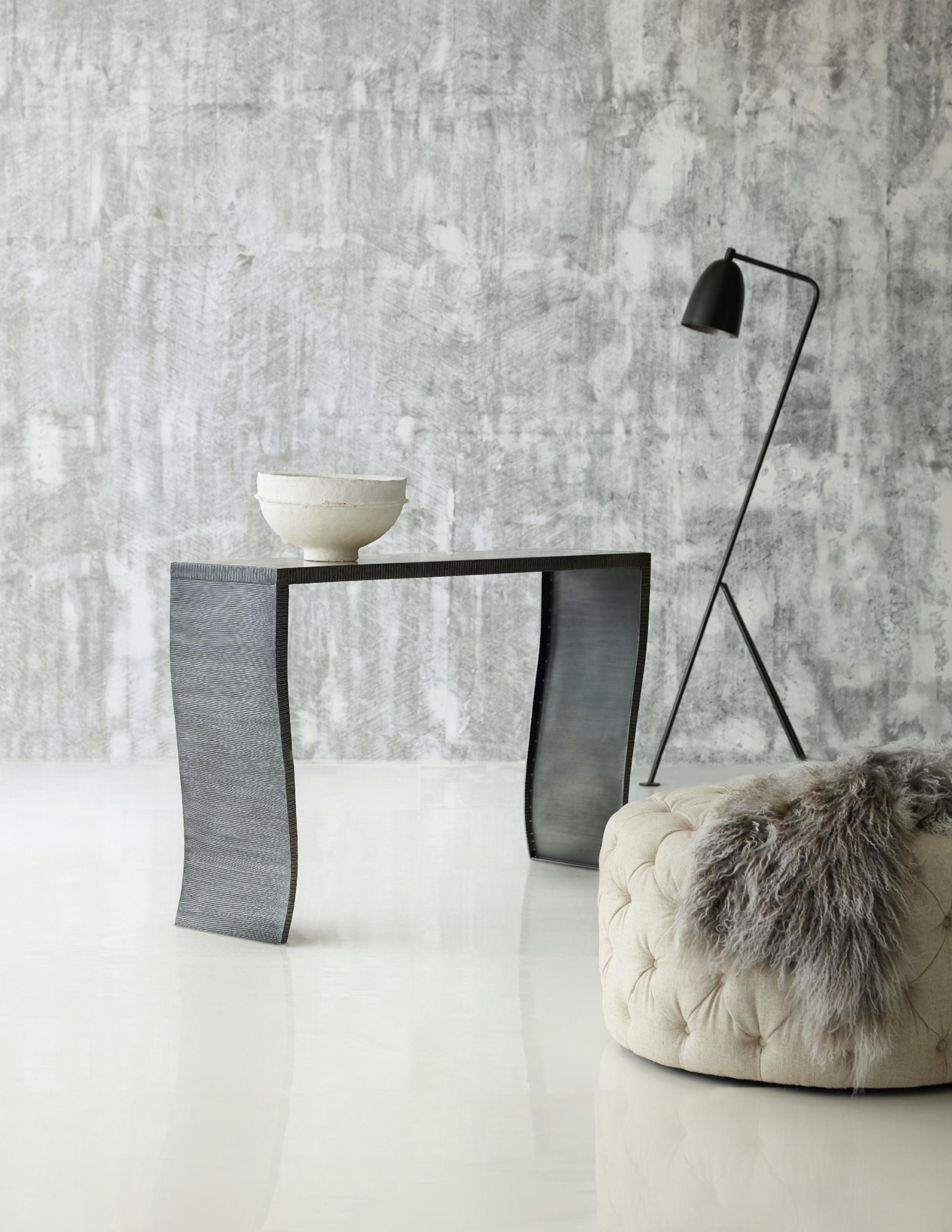 ... Hooker Furniture Melange Everett Console Table 638 85320 WH