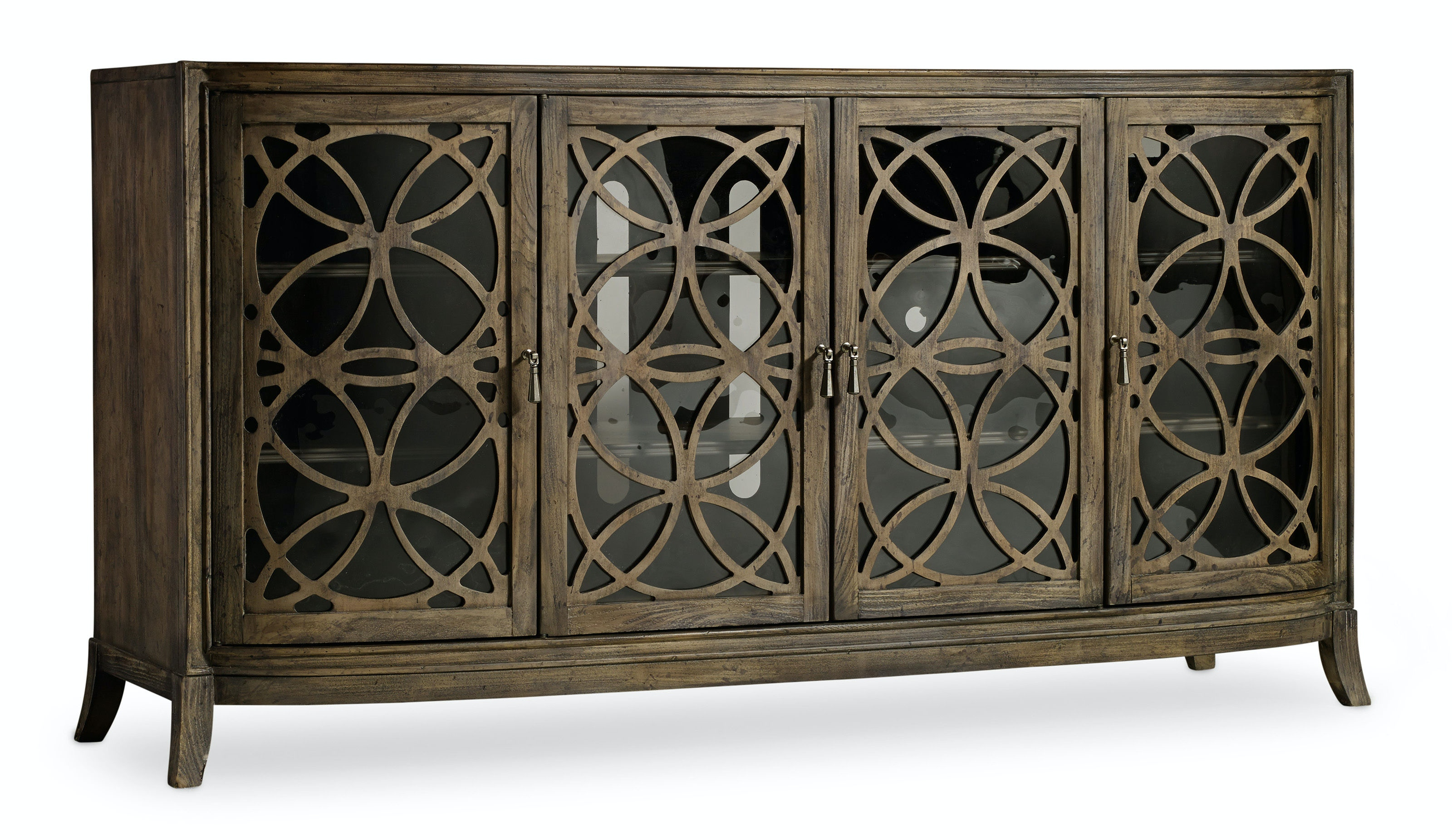 Hooker Furniture Home Entertainment Melange Sloan Console 638 55010   Slone  Brothers   Longwood And Orlando, FL