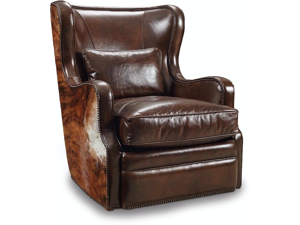 Hooker Furniture Living Room Wellington Swivel Club Chair CC418-SW ...