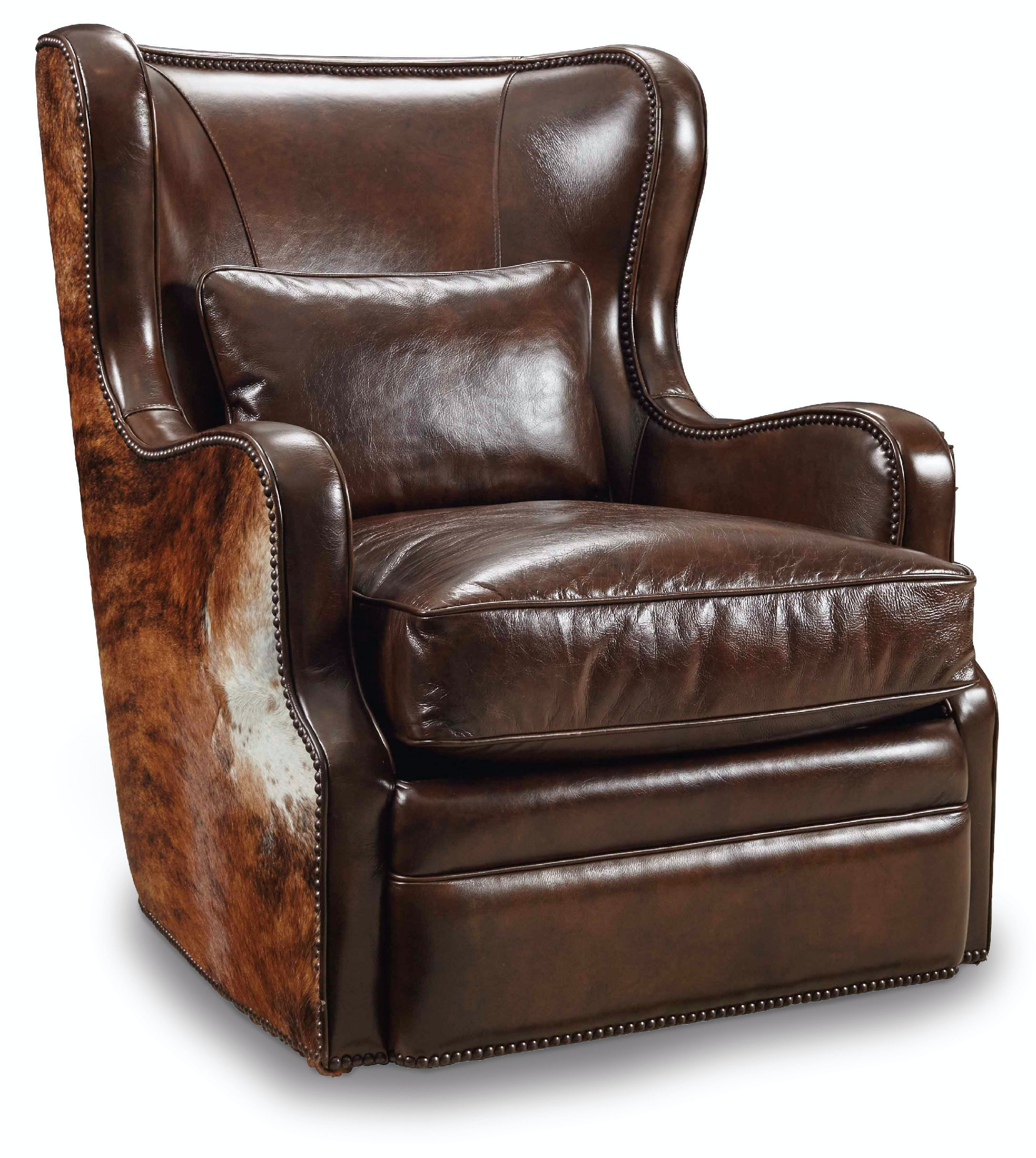 Hooker Furniture Living Room Wellington Swivel Club Chair CC418 SW 086    Wrights Furniture U0026 Flooring   Dieterich, IL