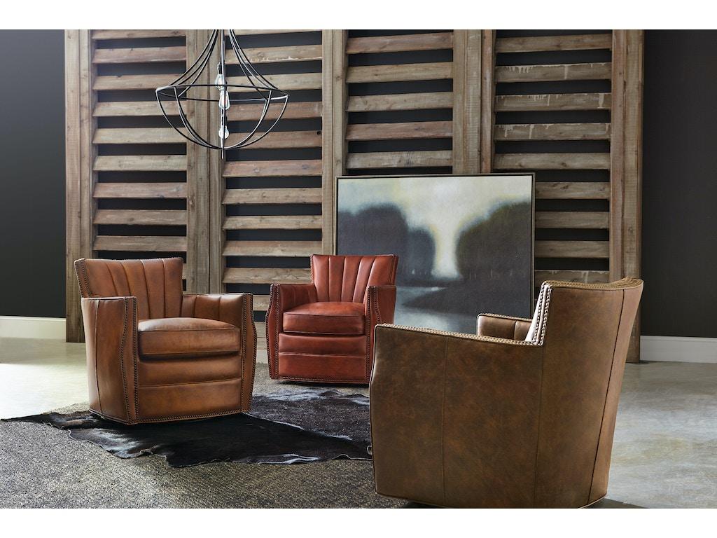 Hooker Furniture Living Room Carson Swivel Club Chair CC492-SW-062 ...
