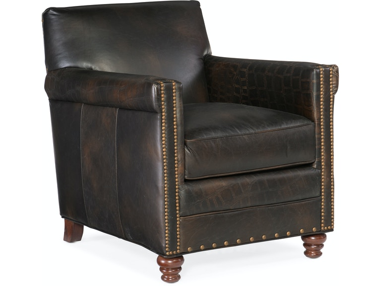 Hooker furniture living room potter club chair cc719 01 for Affordable furniture lake charles la