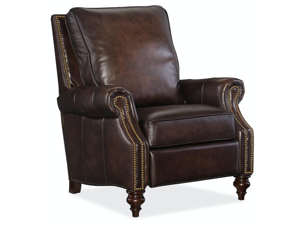 Hooker Furniture Living Room Conlon Recliner Rc185 089 Seville Home Leawood Kansas City