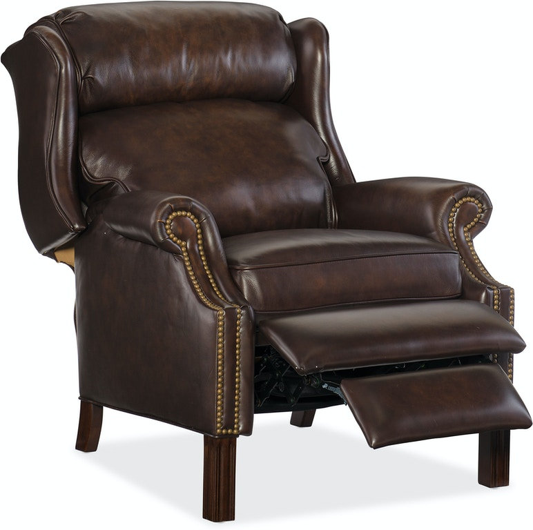 Leather Furniture Stores In Birmingham Al: Hooker Furniture Living Room Finley Recliner RC214-203