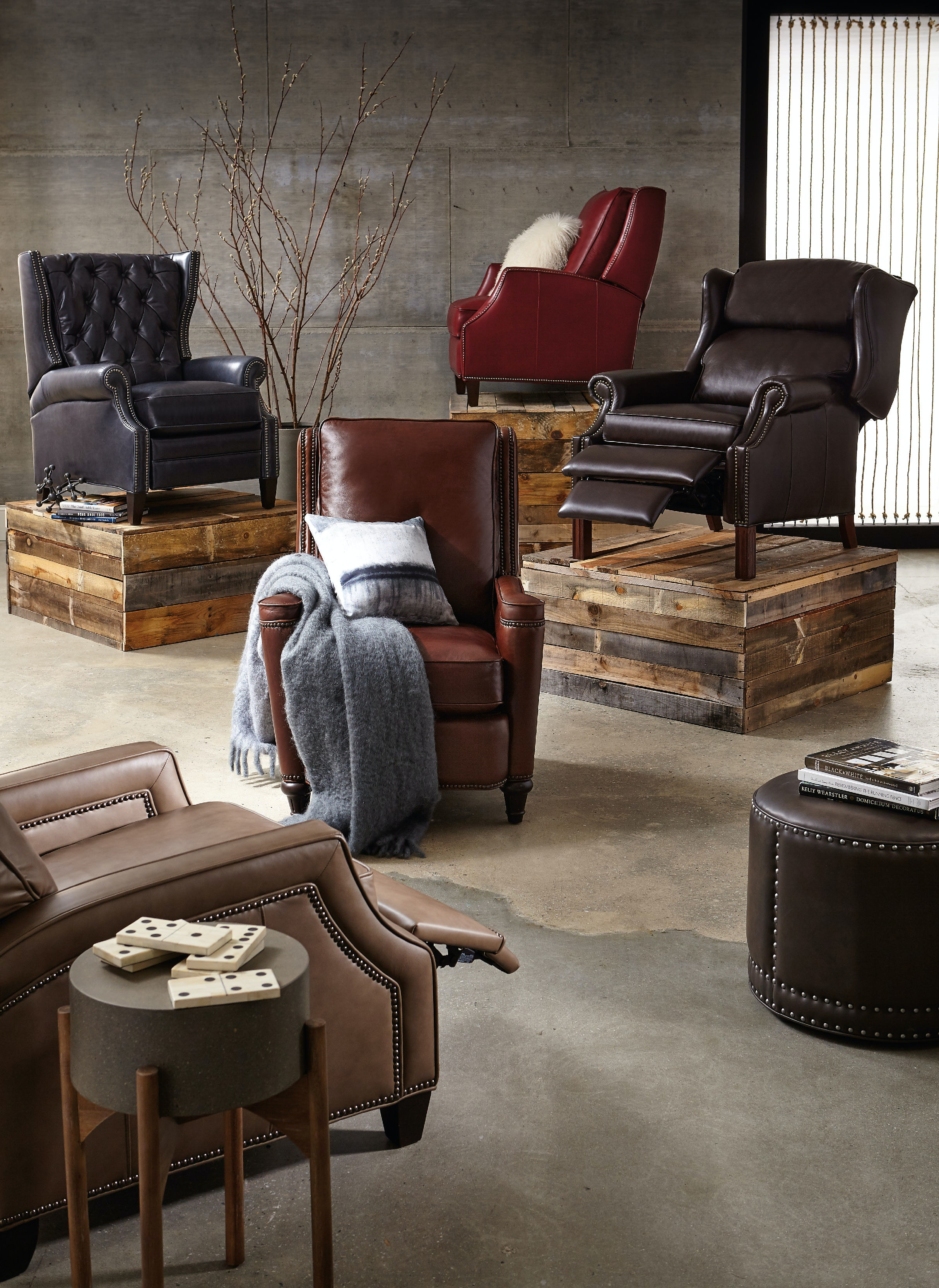 ... Hooker Furniture Kelly Recliner RC517 083