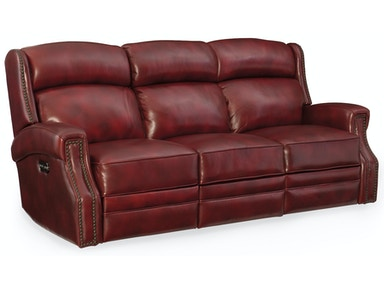 Hooker Furniture Carlisle Power Motion Sofa w/Pwr Headrest SS460-P3-165