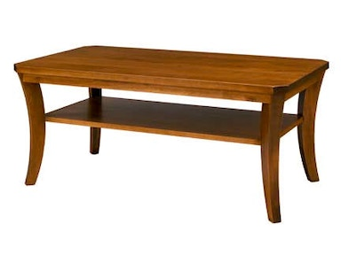 A A Laun Furniture Rectangle Cocktail Table 6500-08