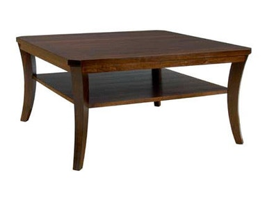 A A Laun Furniture Living Room Square Cocktail Table