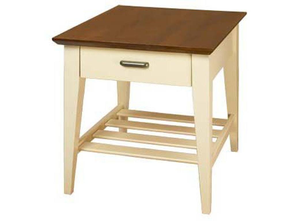 A A Laun Furniture End Table