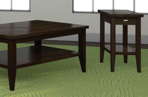 Bon A A Laun Furniture Chairside Table W/Drawer 2306 07