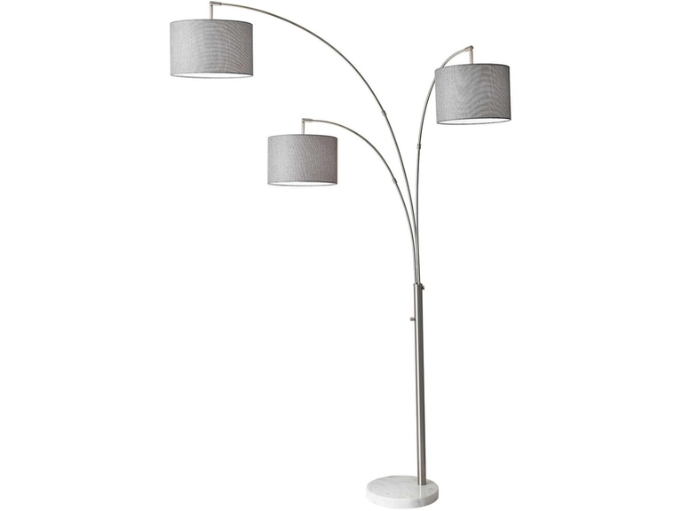 Adesso lamps and lighting bowery 3 arm arc lamp 4250 22 upper