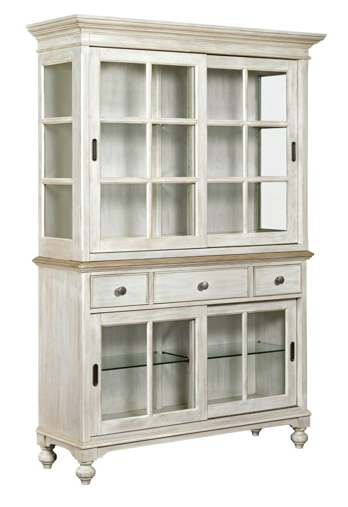 American Drew Dining Room Sullivan Buffet Hutch Complete 750 850R