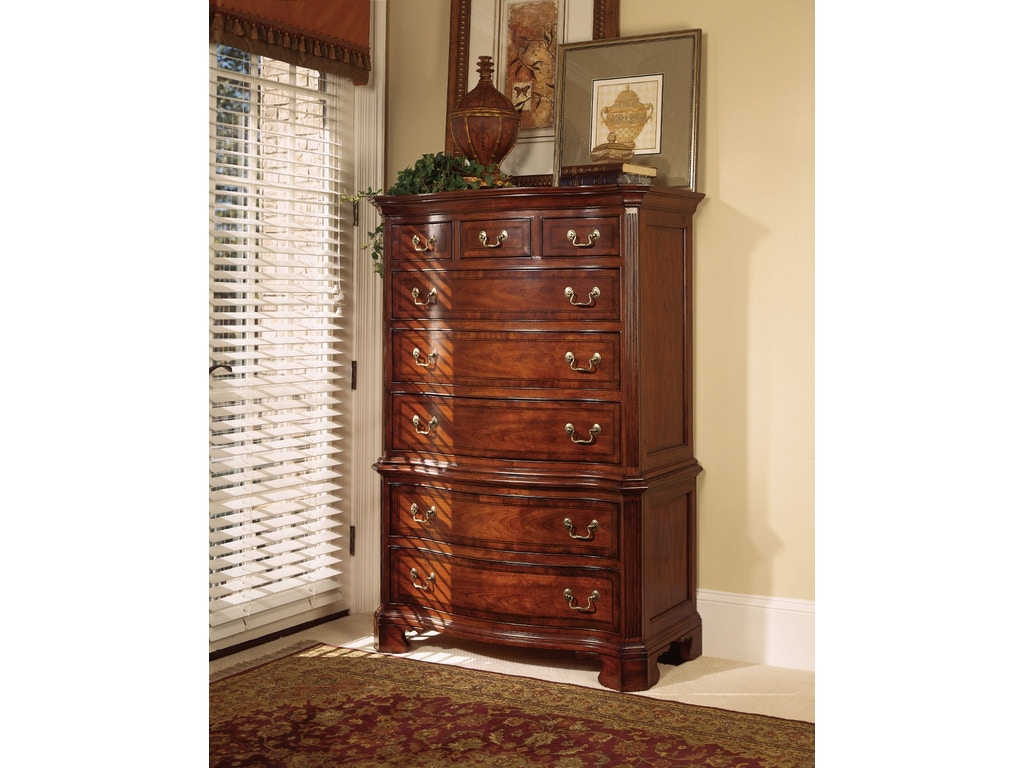 American Drew Bedroom Chest on Chest 791-230 at Hickory Furniture Mart