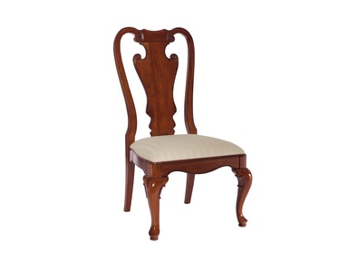 American Drew Dining Room Splat Back Side Chair-KD